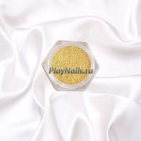 Бульонки Золото, металл, 0.4 мм