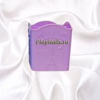 Подставка для инструментов и кистей, Фиолетовая