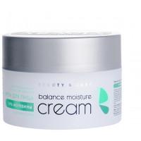 Крем для лица Aravia Balance Moisture Cream, с мочевиной 10% и пребиотиками, 150 мл
