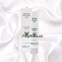 Крем балансирующий Aravia Balancing Mat Cream 12H, с матирующим эффектом, 100 мл