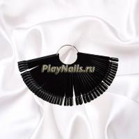 Палитра-веер на кольце черная