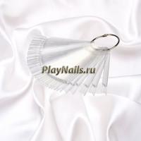 Палитра-веер на кольце прозрачная